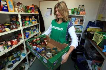 Bedford Foodbank 3rd March 2015 Bedfordshire Humanists
